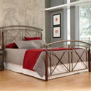 fashion bed belair wood metal headboard b12215