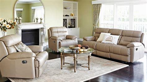 leather recliner lounge suite alphin 3 piece powered leather recliner lounge suite