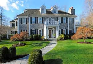 6 5 million georgian colonial mansion in greenwich ct homes of the rich the 1 real estate