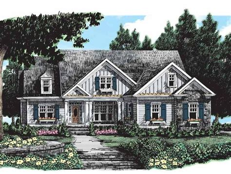 eplan house plans eplans cottage house plan one story is all you need 2487 square feet and 3