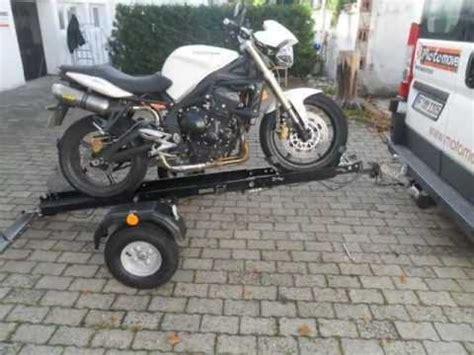 Motorradtransporter Für 4 Motorräder by Motomove Motorradanh 228 Nger Mono 8 1 Sicherer
