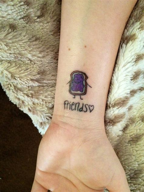 peanut butter jelly tattoo 69 best images about best friend tattoos on
