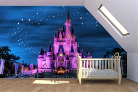Disney Wallpaper Room Decor | top 5 ideas for disney inspired bedrooms