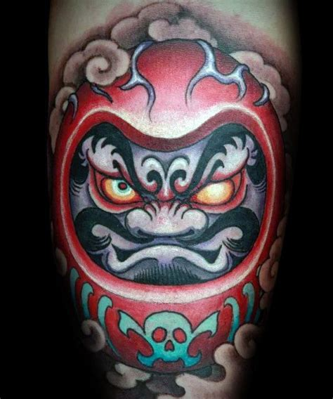 daruma doll tattoo meaning 60 daruma doll designs for japanese ink ideas