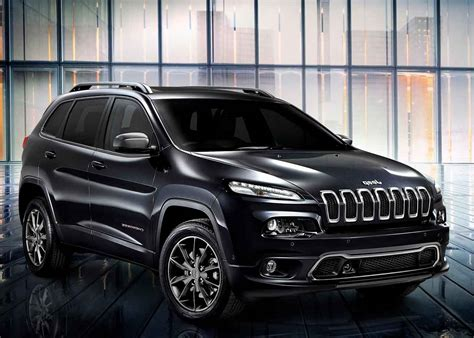 2016 Jeep Cherokee Overland Black Color Autocar Pictures