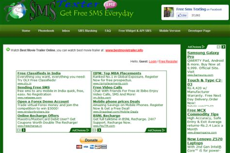 free sms to pakistan mobile network to all send free sms in pakistan without registration to any