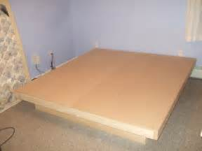 Platform Bed Frame Plans How To Make A Solid Wood Platform Bed Discover