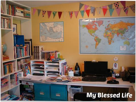 learning room my blessed back to home school our learning room spruce up