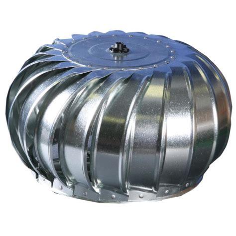 Turbine Ventilator Warna Mustaka Vent 18 shop air vent galvanized steel wind turbine attic vent
