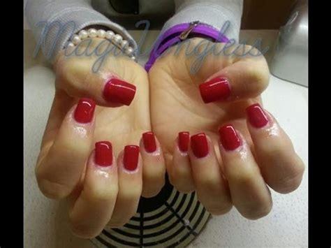 youtube tutorial uñas de gel u 241 as de gel usando gel 4d como color principal gel nails