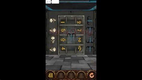 100 Floors Escape Level 41 Walkthrough - 100 doors hell prison escape level 41 walkthrough