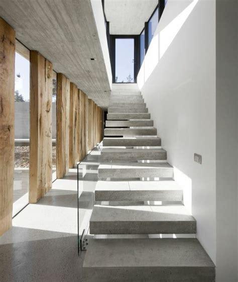 Escalier Suspendu Beton by L Escalier Moderne En 110 Photos Magnifiques