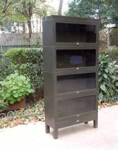 metal barrister bookcase for sale vintage globe wernicke metal barrister bookcase storage