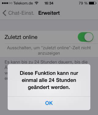 Whatsapp Verstecken Nicht Mehr Anzeigen Wann Sie Zuletzt