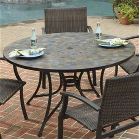Home Styles Stone Harbor 51.25 In W X 51.25 In L Round