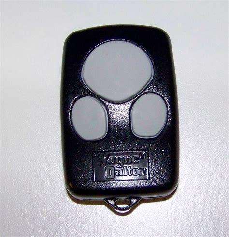 Wayne Garage Door Openers by Wayne Dalton Remote