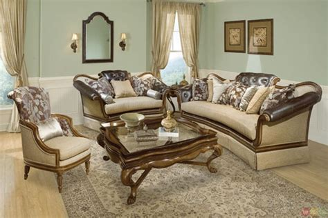 tufted living room set salvatore antique style button tufted living room sofa set