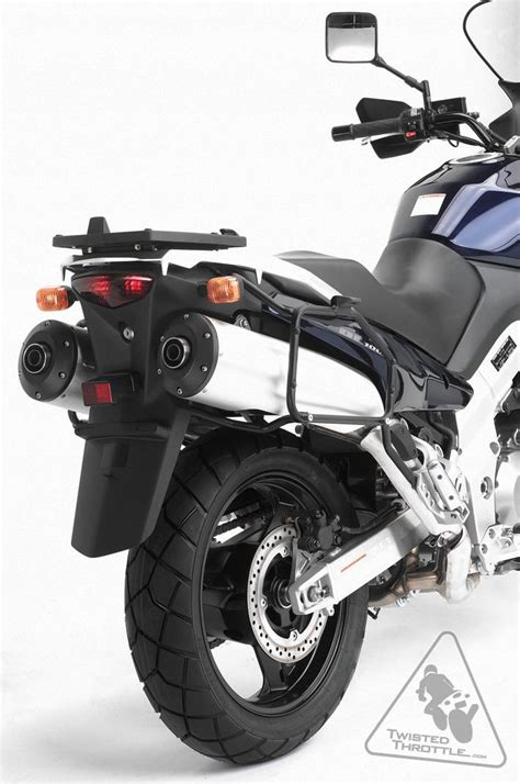 Base Point Honda Cb200 givi pl528 tubular sidecase racks to fit givi monokey