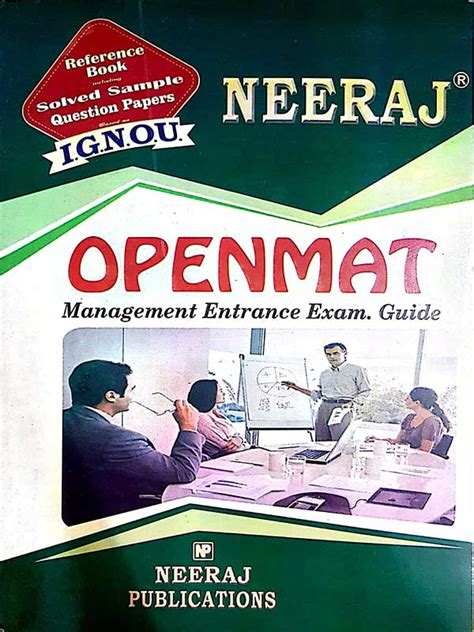 Ignou Mba Books by Ignou Openmat Mba Entrance Guide Book For 2018
