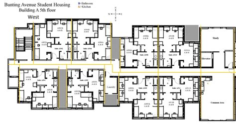 housing blueprints floor plans student housing floor plans gurus floor