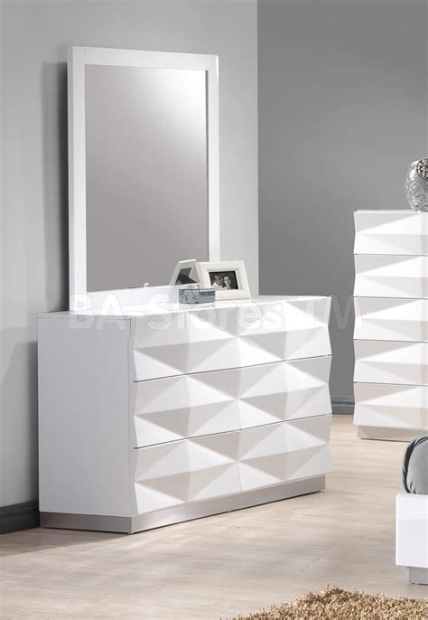 bedroom dressers with mirrors 720 80 verona dresser and mirror in white dressers