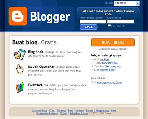 cara membuat blog gratis marketing cara membuat blog gratis