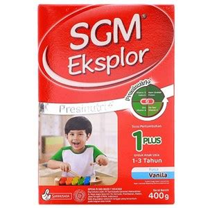 Sgm Free Lactose Sell Sgm Eksplor 1 Vanilla 400gr Box From Indonesia By