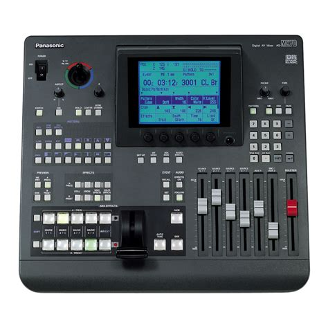 Mixer Panasonic panasonic ag mx70 digital audio mixer ag mx70 b h photo