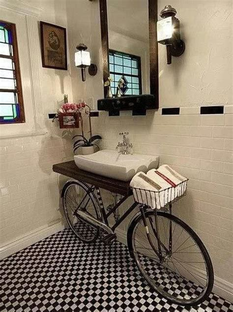 bicycle themed home decor 17 useful ideas for small bathrooms apartment geeks