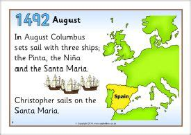 christopher columbus biography project christopher columbus timeline posters sb10311