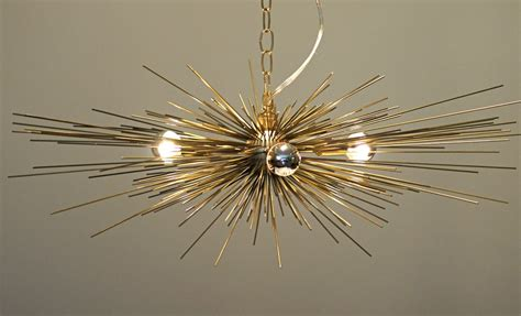urchin chandelier gold urchin chandelier lighting stimulight