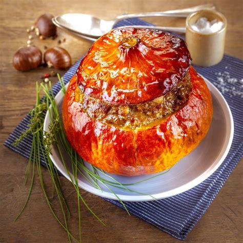 cuisine l馮鑽e au quotidien potimarron farci plats de l automne pour moulinex