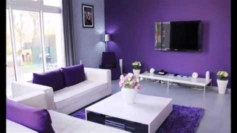 Decoration Salle Salon Maison by Cuisine D 195 169 Coration Salon Avec Des Accents Violets