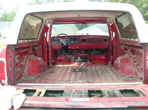 1979 Ford Bronco Interior by 1979 Ford Bronco Interior Picture Supermotors Net