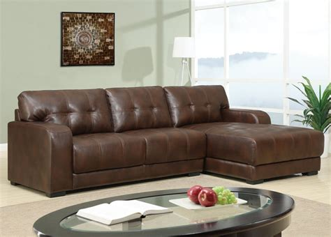 leather sectional sofa with chaise lounge hereo sofa