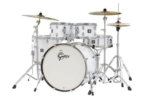 Pedal Bearing Formula White Gretsch Drums Energy Gex E825pk Wh 5 Drum Set White