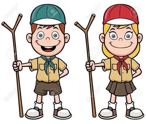 clipart scout boy scout vector clipart
