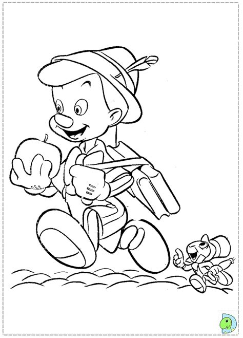 disney coloring pages pinocchio pinocchio coloring page dinokids org