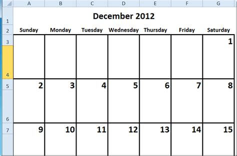 how to make a calendar in docs how to create a calendar in excel