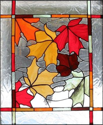leaf pattern for stained glass fall leaf stained glass google search artsy fartsy