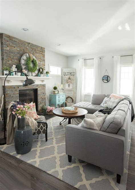 terrific grey living room decor brown and grey