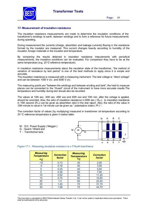 iec standard resistor values iec standard for resistors 28 images best transformer test procedures en ls9934 1kva high