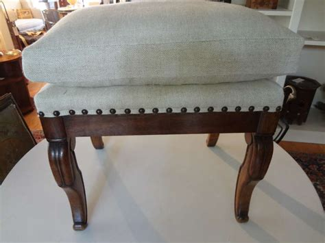 antique ottoman for sale antique french charles x walnut ottoman for sale at 1stdibs