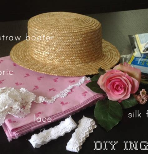 decorated straw hats images