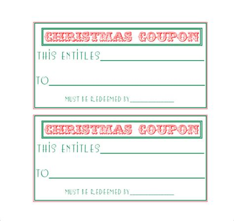 28 homemade coupon templates free sle exle
