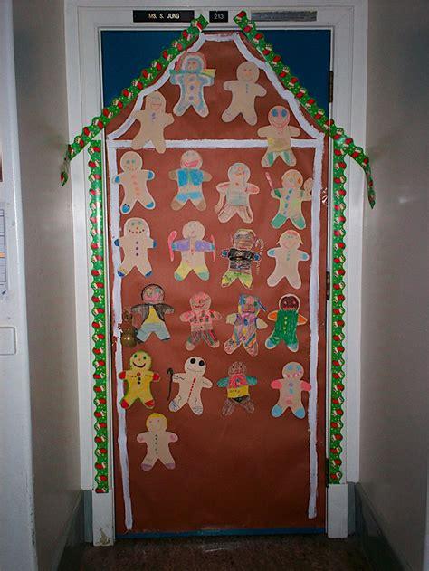 Gingerbread Door by Classroom Door Gingerbread House