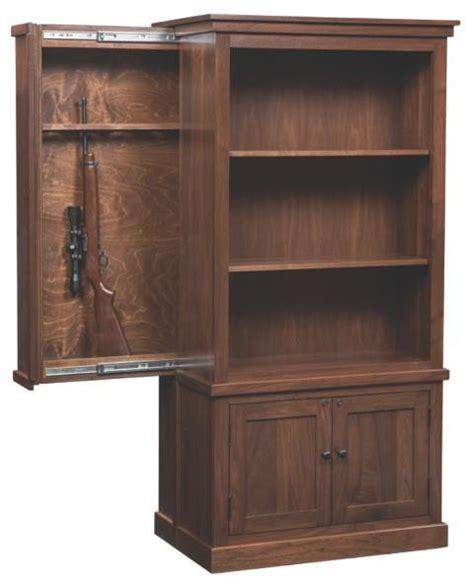 wood gun cabinets  dutchcrafters amish furniture