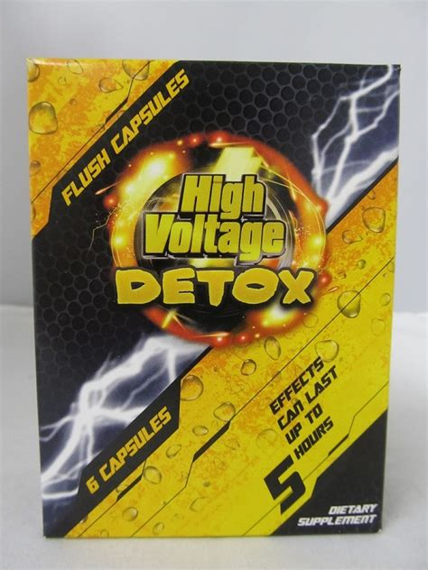 High Voltage Detox by High Voltage Detox 6 Fast Flush Capsules