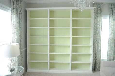 How To Make Bookcases Look Built In 25 Best Ideas About Custom Bookshelves On Pinterest