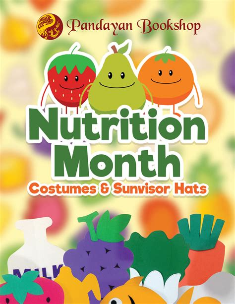 poster design nutrition month nutrition month 2016 costumes sunvisor hats pandayan